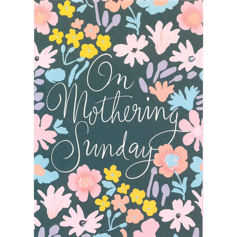 Mother's Day Card - On Mothering Sunday
