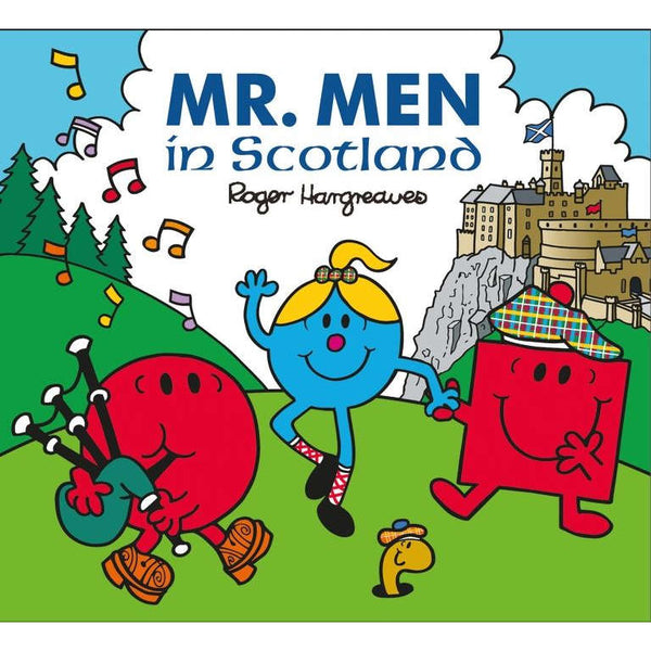 Mr. Men In Scotland by Roger Hargreaves book front