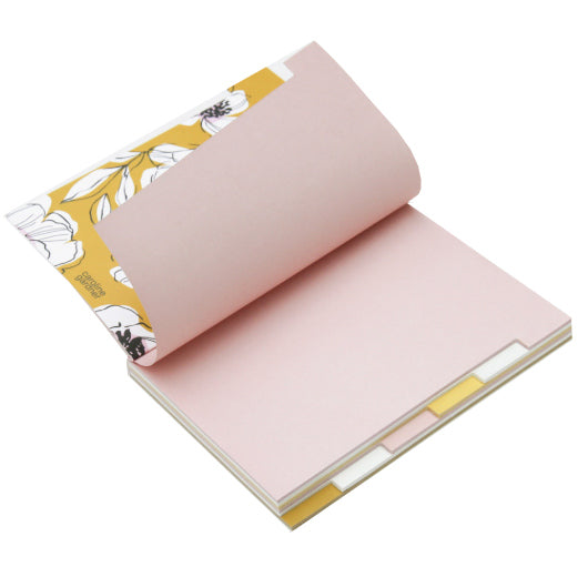 Multi Tab Notebook Pink MLT103 open