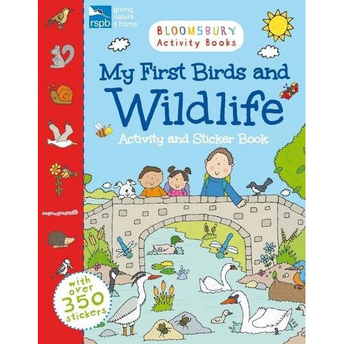 My First Birds And Wildlife Activity And Sticker Book