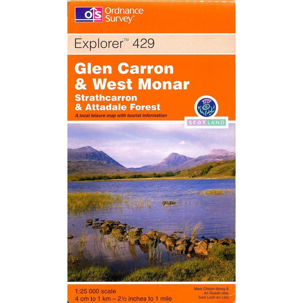 OS Explorer 429 - Glen Carron & West Monar