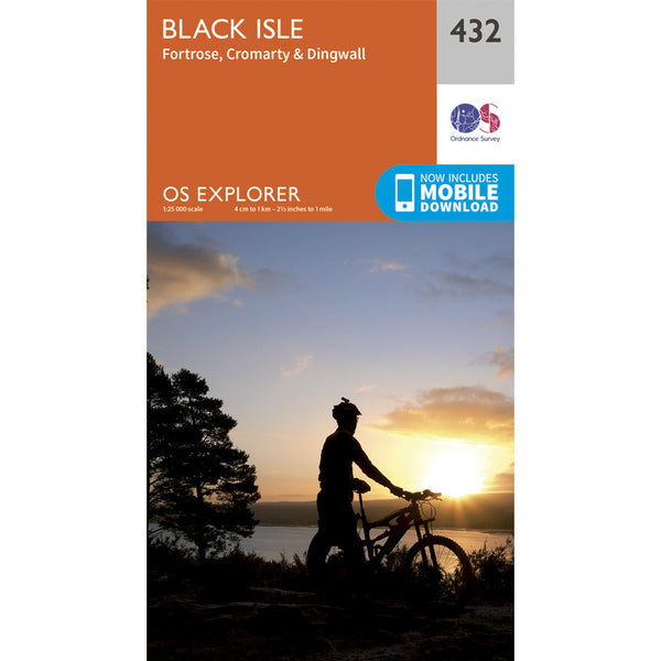 OS Explorer 432 - Black Isle