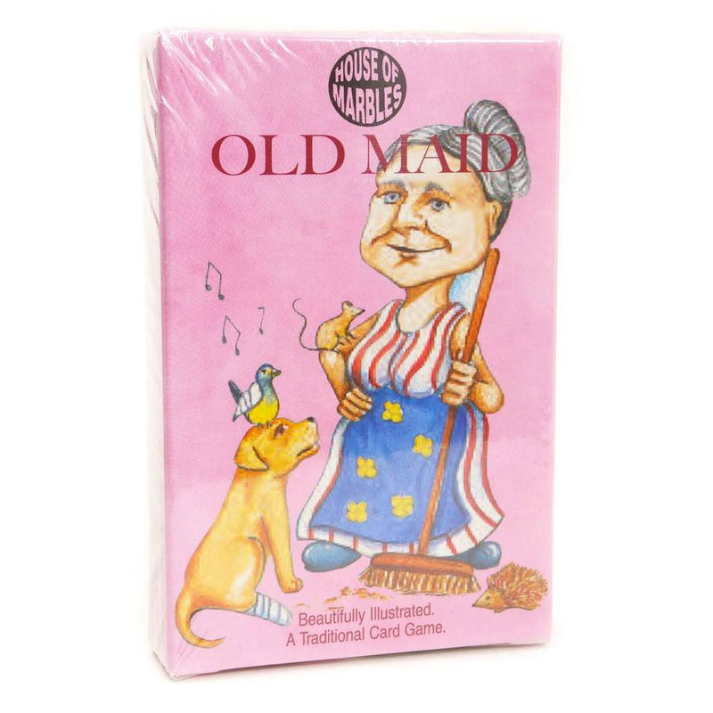 Old Maid Childrens Card Game 306551 pack