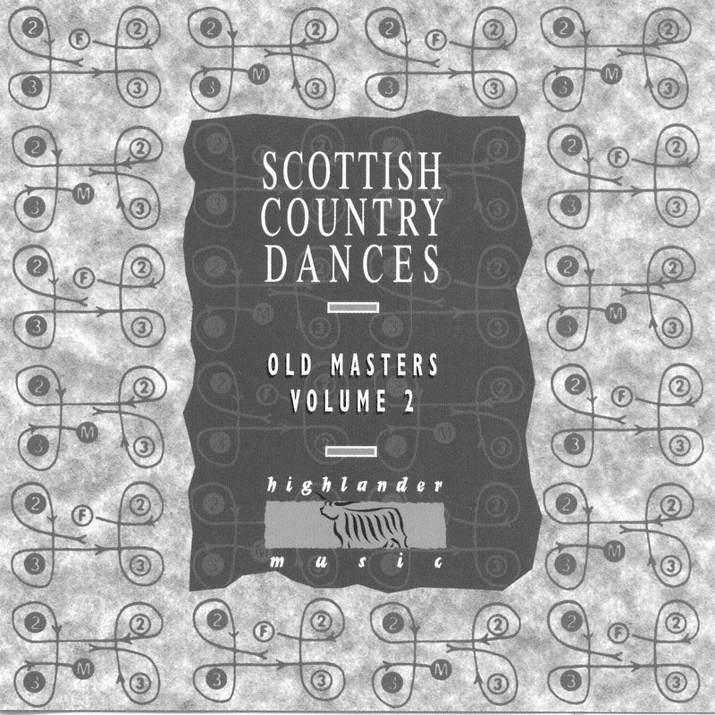 Old Masters Vol 2 - Scottish Country Dancing Music by Alex MacArthur Scottish Dance Band & The Tain Band - CD