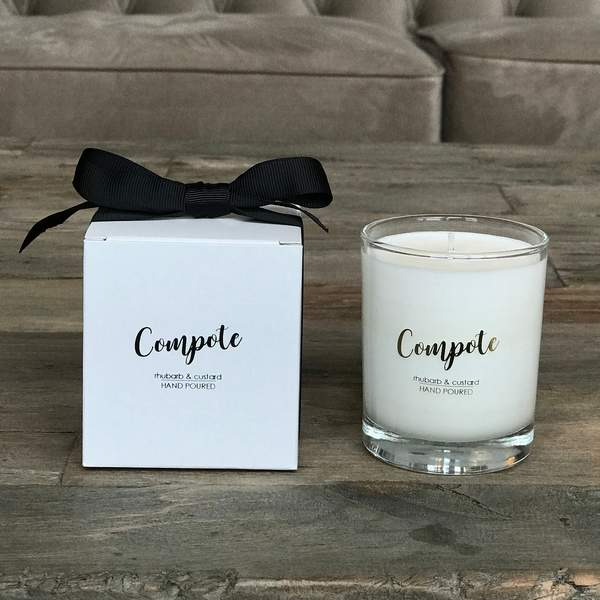 Old School Beauly Hand Poured Candle - Compote 20cl candle & gift box