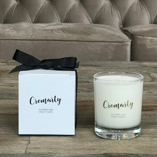 Old School Beauly Hand Poured Candle - Cromarty 20cl and box