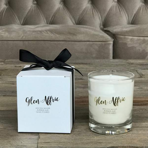 Old School Beauly Hand Poured Candle - Glen Affric 20cl with gift box