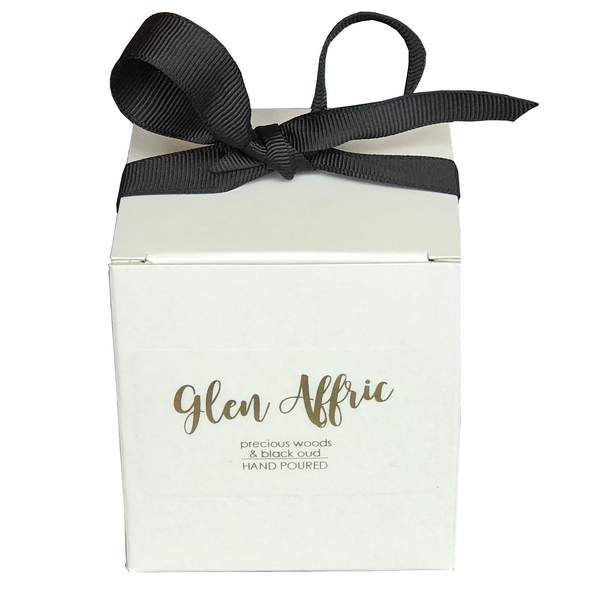 Old School Beauly Hand Poured Candle - Glen Affric 20cl gift box