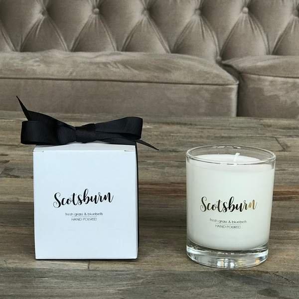 Old School Beauly Hand Poured Candle - Scotsburn 20cl with gift box