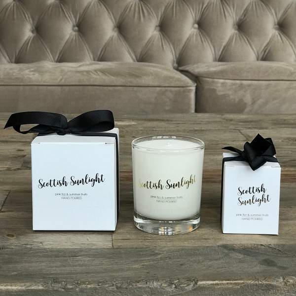 Old School Beauly Hand Poured Candles - Scottish Sunlight