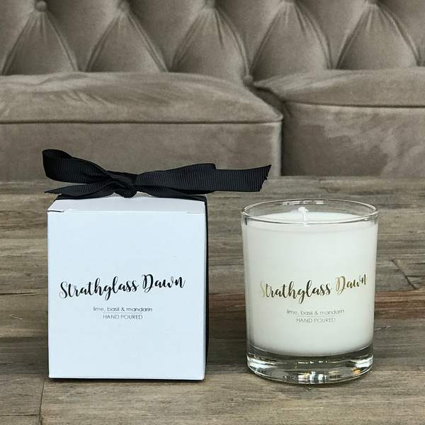 Old School Beauly Hand Poured Candle - Strathglass Dawn 20cl and gift box