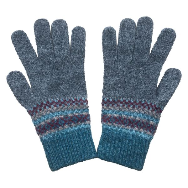 Old School Beauly Knitwear - Culloden Lambswool Gloves