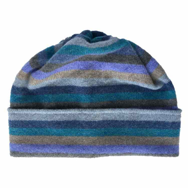 Old School Beauly Knitwear - Inverness Blue Skies Hat