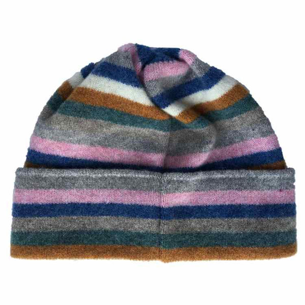 Old School Beauly Knitwear - Inverness Pink Skies Hat back