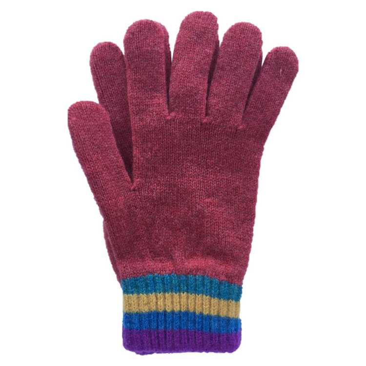Old School Beauly Knitwear - Inverness Sunset Gloves