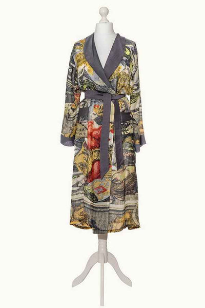 One Hundred Stars Atlas Dressing Gown on mannequin front