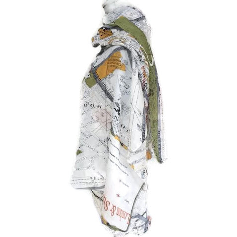 One Hundred Stars London Map Scarf
