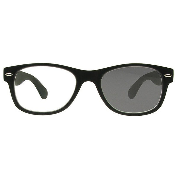 "Photochromic Reading Glasses ""Changers"" Black"