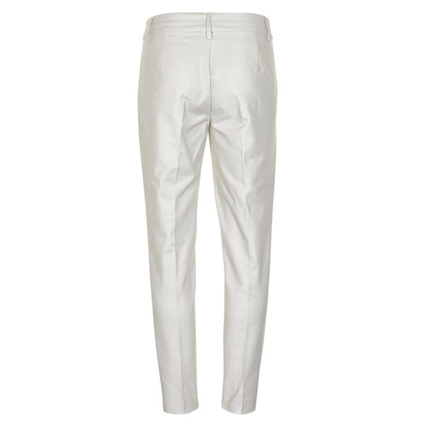 Part Two Clothing Urban 138 Trousers in Dark White back