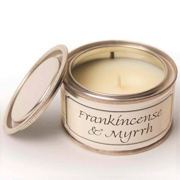 Pintail Candles Frankincence and Myrrh Paint Pot Candle