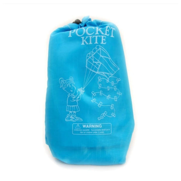 Pocket Kite blue bag