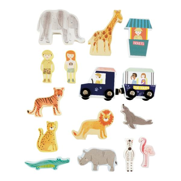 Portable Play Box Zoo 41P3658 contents