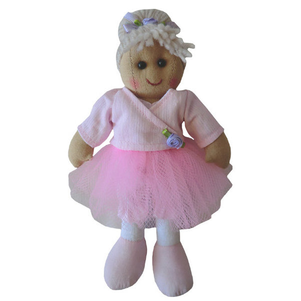 Powell Craft Mini Rag Doll Ballerina 20cm at the Old School, Beauly, Inverness