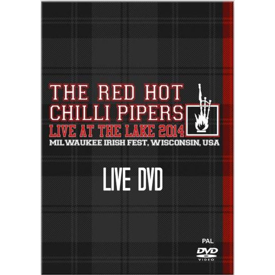 Red Hot Chilli Pipers - Live At The Lake DVD