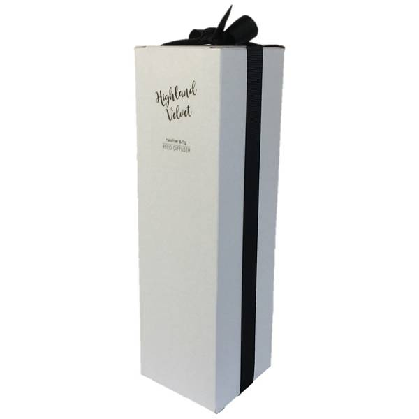 Old School Beauly Reed Diffuser - Highland Velvet 100ml angled front