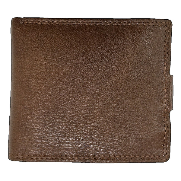Rowallan Honeywood Tan Tabbed Inner Wallet back