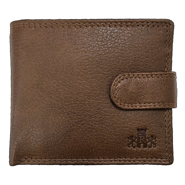 Rowallan Scotland Honeywood Tan Tabbed Inner Wallet