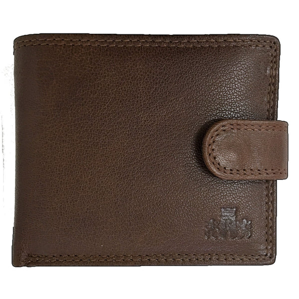 Rowallan Honeywood Tan Tabbed Standard Wallet