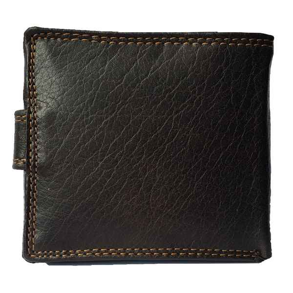 Rowallan Of Scotland Lancaster Brown Tabbed Triple Wallet 33-9808/02 back