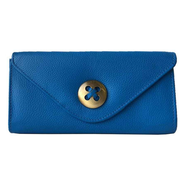 Rowallan Of Scotland Marianne Blue Trifold Purse front