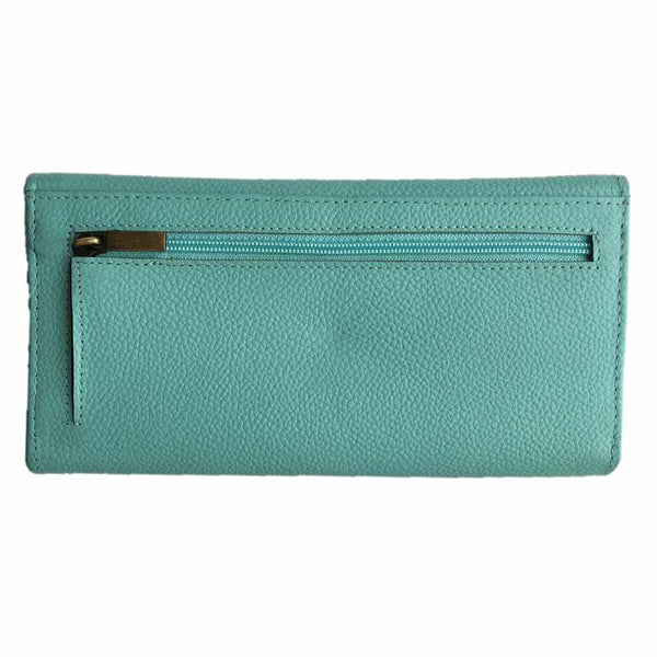 Rowallan Of Scotland Marianne Turquoise Trifold Purse back