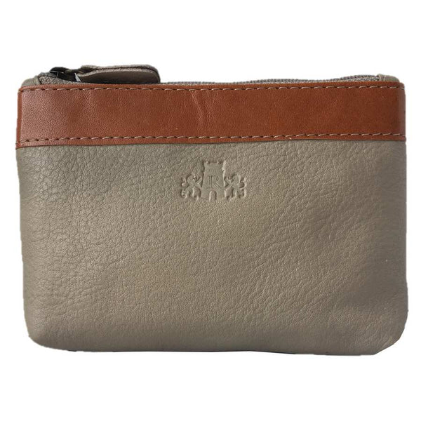 Rowallan Of Scotland Prelude Taupe Coin Purse front