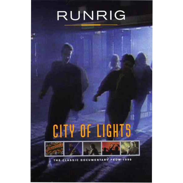 Runrig - City Of Lights RRD036 DVD front cover