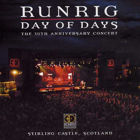 Runrig - Day Of Days RR025 Cd front cover