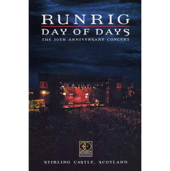 Runrig - Day Of Days RRD022 DVD front cover