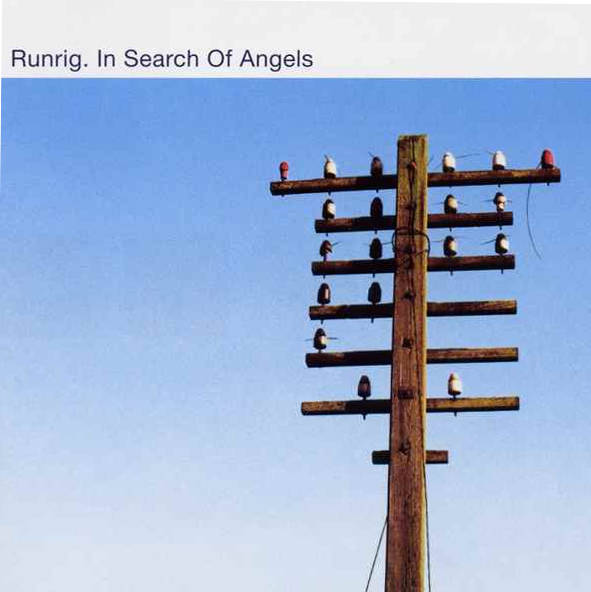 Runrig - In Search Of Angels RR010 CD front cover