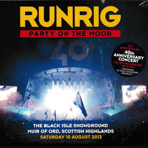 Runrig - Party On the Moor CD front