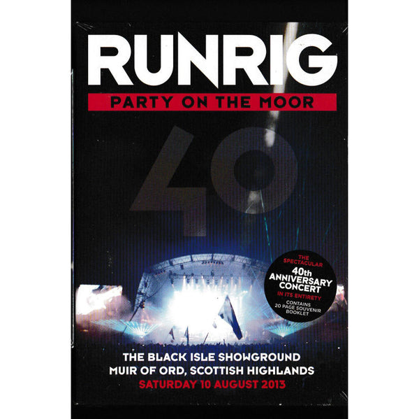Runrig - Party On the Moor DVD front
