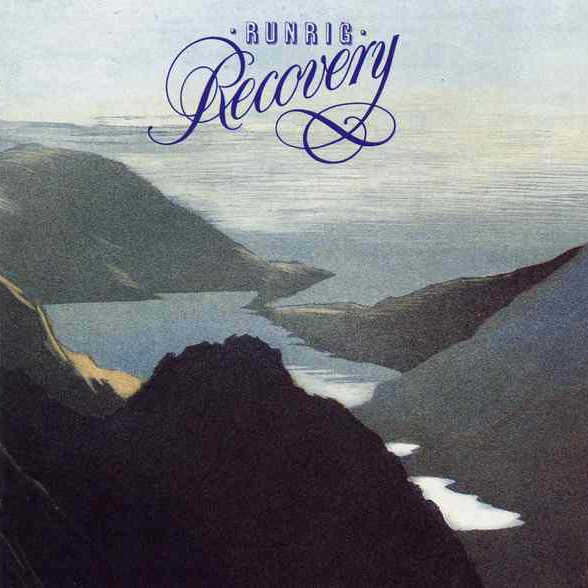 Runrig - Recovery RRCD002 CD front cover