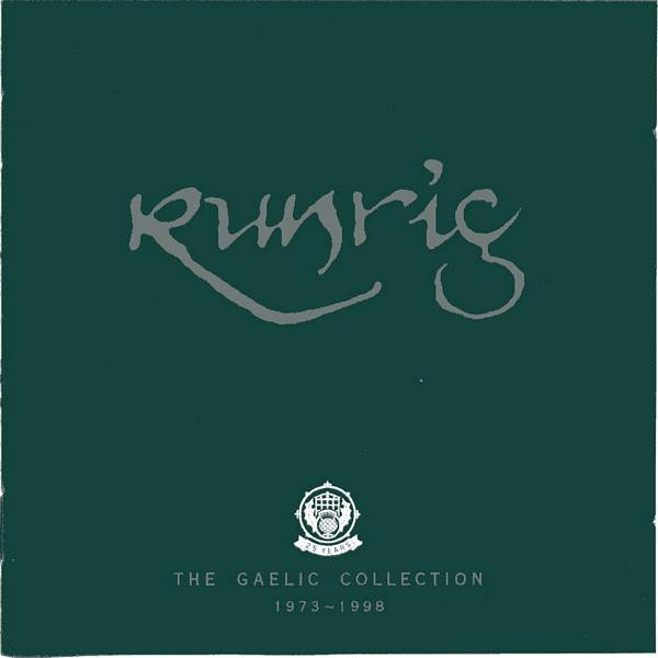 Runrig - The Gaelic Collection CD front cover RR009