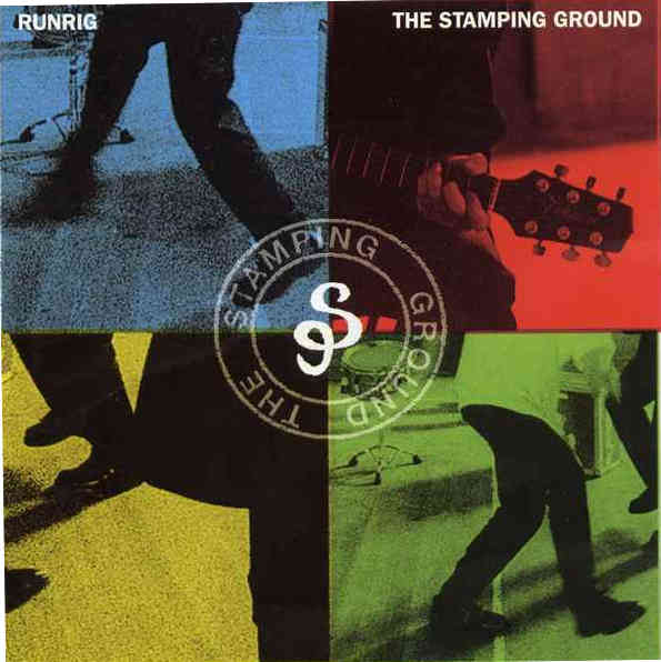 Runrig - The Stamping Ground CD front cover RR016