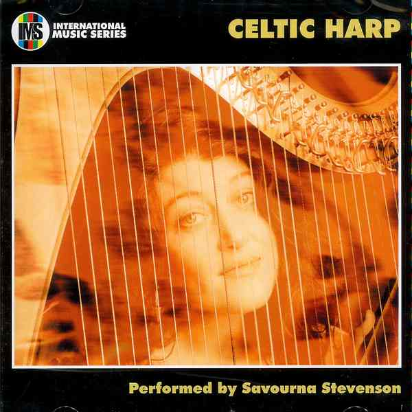 Savourna Stevenson - Celtic Harp CD front cover