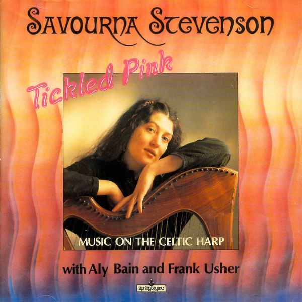 Savourna Stevenson - Tickled Pink CD front cover