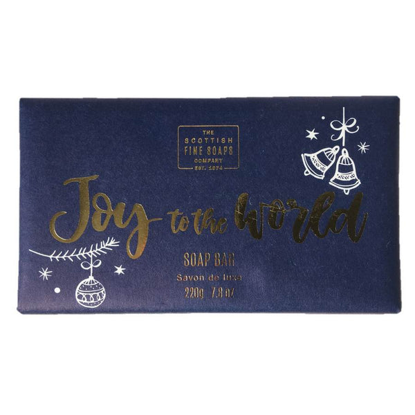 Scottish Fine Soaps Wrapped Soap Joy To The World front