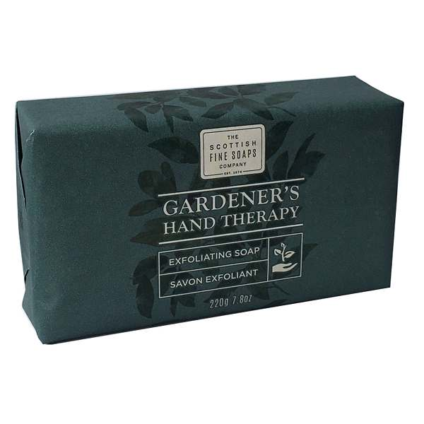 Scottish Fine Soaps Gardeners Hand Therapy Exfoliating Soap front angle