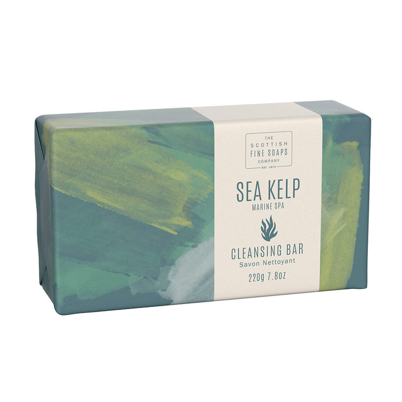 Scottish Fine Soaps Marine Spa Sea Kelp Cleansing Bar A03250